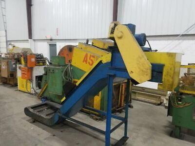 16 Mayfran Magnetic Scrap Conveyor 3 Infeed Length 56 Discharge Height