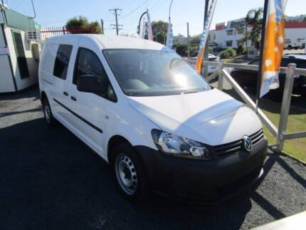 VOLKSWAGEN CADDY MAXI VAN Diesel Turbo with Books Currumbin Waters Gold Coast South Preview