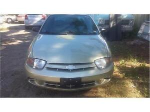 2003 CHEVROLET CAVALIER LOW LOW MILEAGE AUTO AIR SAFETY
