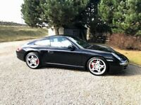 STUNNING Porsche 911 Carrera S Tiptronic immaculate condition. Have receipt showing it cost £70k new