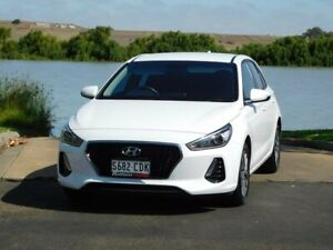 2018 Hyundai i30 PD MY18 Active D-CT White 7 Speed Sports Automatic Dual Clutch Hatchback Murray Bridge Murray Bridge Area Preview