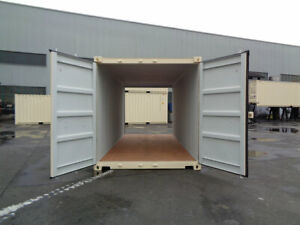 DOUBLE DOOR 20' NEW One-Trip Shipping Container/Seacan for SALE