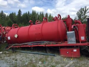 Used Tri-Drive Vacuum Tanks for immediate sale - Not A Typo