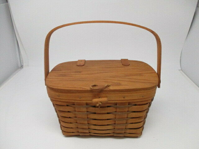 1990 Longaberger Heartland Purse Basket