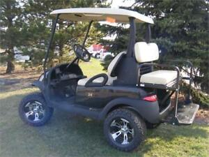 2007 Club Car Precedent Custom Lifted with OEM New Painted Body