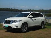 2016 Nissan Pathfinder ST-L Pearl White Automatic Wagon Lansvale Liverpool Area Preview