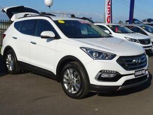 2015 Hyundai Santa Fe DM3 MY16 Elite White 6 Speed Sports Automatic Wagon Albion Park Rail Shellharbour Area Preview