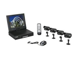 Vonnic (DK7784B) 4 channel + 3 Cameras Security System Kit Kingston Kingston Area image 1