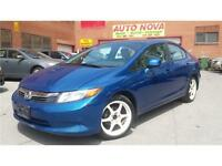 ***2012 HONDA CIVIC LX***AUTO./A.C./TOIT/FULL