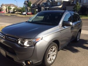 2014 Mitsubishi Outlander GT SUV, AWD,7 Seats, Opportunity!!