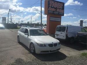 2007 BMW 5 Series 530xi**NAVI**LEATHER**TOURING**WAGON**170 KMS