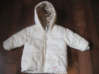 Old Navy Winter jacket, size 6-12 months for girl