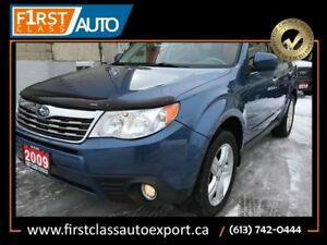 2009 Subaru Forester X Limited - LEATHER/SUN ROOF - ALL WHEEL