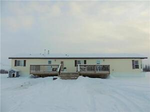 10.08 Acres with 1520 Sq Ft Mobile Home - 28X32 Heated Garage