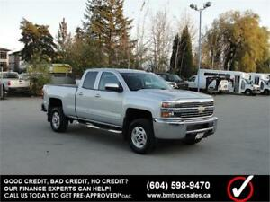 2015 CHEVROLET SILVERADO 2500HD LT DOUBLE CAB SHORT BOX 4X4