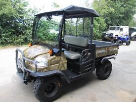 KUBOTA RTV 900 DIESEL SIDE BY SIDE ROAD REGISTERED FARM EQUESTRIAN HUNTING