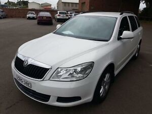 2010 Skoda Octavia 1Z MY10 75 MPI White 5 Speed Manual Wagon Georgetown Newcastle Area Preview