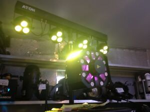 Lighting for parties & stage, Audio equipment West Island Greater Montréal image 2