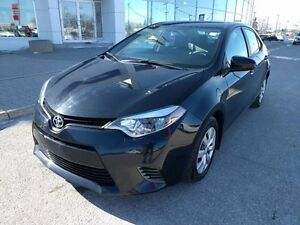 2015 Toyota Corolla 4-door Sedan CE Back up camera heated Seats