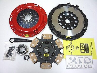 XTD STAGE 3 MIBA CLUTCH 10LBS FLYWHEEL KIT 90 05 MIATA MX 5 MX5 16L 18L ALL