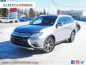 2017 Mitsubishi Outlander SE. Low Kms. Clean Carproof. Eco. 4WD.