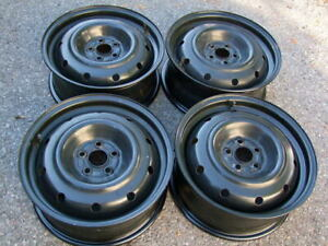 "SETS OF FOUR 16"" STEEL RIMS,5x100,108,110,112,114.3 &120"
