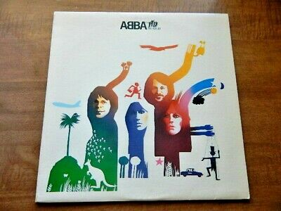 Lp-ABBA-The Album 1977 Take a Chance on Me, The Name of The Game