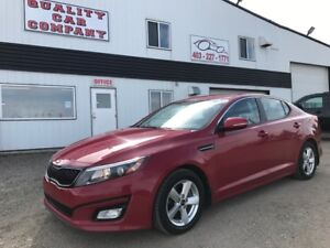 2014 Kia Optima LX  Fully equipped. Low kms. ONLY $212.43/month