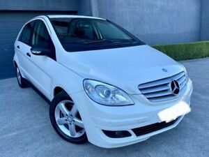 2007 Mercedes-Benz B200 245 White Continuous Variable Hatchback Southport Gold Coast City Preview