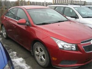 2012 Chevrolet Cruze LT Turbo+ w/1SB RUNS AND DRIVES AS-IS DEAL