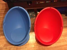Childrens Plastic Tub Chair
