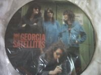 Vinyl LP Inteview Picture Disc The Georgia Satellites Talking Pictures