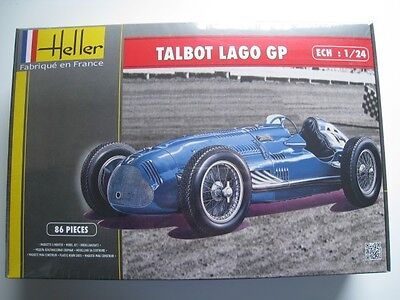Talbot Lago GP Bausatz Heller Maßstab 1:24 OVP NEU