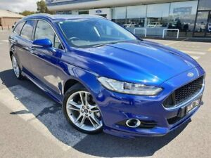 2017 Ford Mondeo MD 2017.50MY Titanium PwrShift Blue 6 Speed Sports Automatic Dual Clutch Wagon Kilmore Mitchell Area Preview