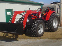 2013 Case IH Farmall 85C Tractor with Loader