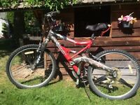 21 speed mountain bike excellent shape