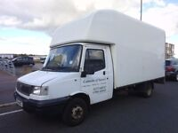 LOOK!... LUTON LDV LONG WHEELBASE WHITE VAN WITH THE ALL IMPORTANT ELECTRIC TAIL-LIFT (PRIVATE SALE)