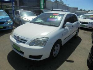2006 Toyota Corolla ZZE122R Ascent Seca White 4 Speed Automatic Hatchback Punchbowl Canterbury Area Preview