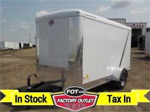 2019 - 6 x 12 Single Axle -*BLAZER*- Cargo Trailer -*Barn Door*-