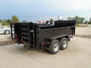 ALL PURPOSE DUMP TRAILER 6 X 12 5 TON WITH COMBO GATE QUALITY London Ontario image 4