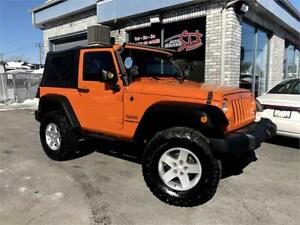 2012 Jeep Wrangler Sport 4X4 TRAIL RATED LIFTER