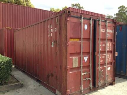 Used 6m Standard Containers - Price Includes GST Narangba Caboolture Area Preview