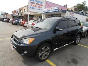 2010 Toyota RAV4 2.5L Sunroof AWD Green Only 122,000km