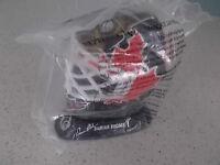 1996 McDonalds Goalie Mask - Damian Rhodes Ottawa Senators NHL