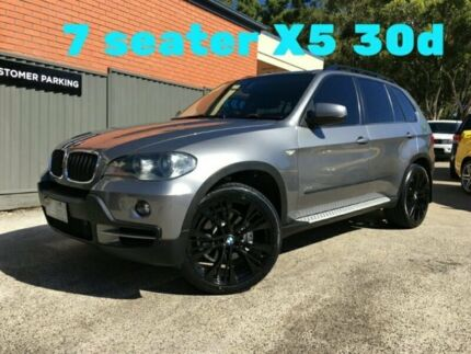 2009 BMW X5 E70 MY09 xDrive30d Steptronic Grey Semi Auto Wagon