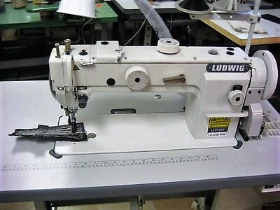 New Industrial Sewing Machine Walking-foot Long-arm Longer Higher Work Bed.