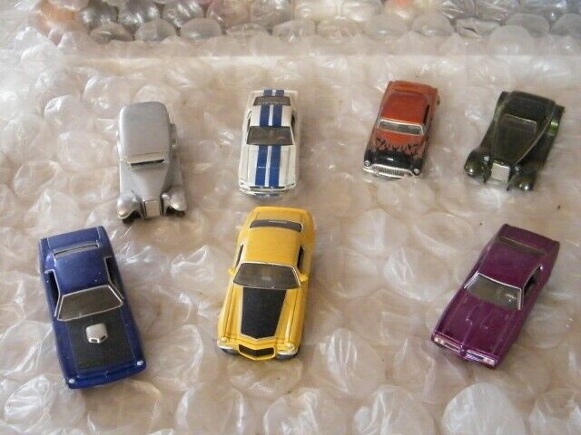 7 Jada 1 64 1971 Chevy Camaro, 1932 Ford, 1931 Ford, 1970 Plymouth, And 3 More - $9.95