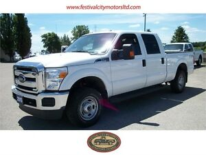 2015 Ford F-250 XLT Crew Cab 4x4   CERTIFIED