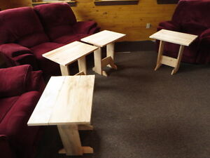 hand craft cedar tables