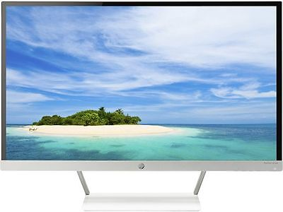 "شاشة ليد  HP 27xw White 27"" 8ms HDMI Widescreen LED Backlight LCD Monitor IPS"